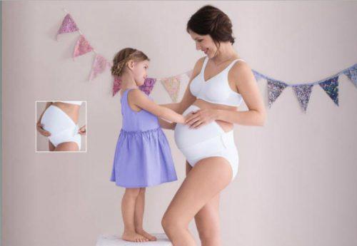 BabyBelt - Faja preparto blanco